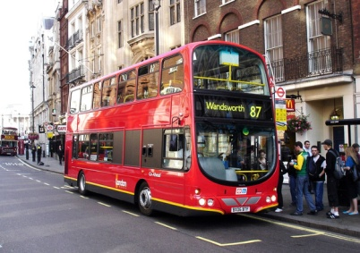 number 87 bus